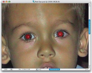 how to remove red eye in photoshop    digital composition diy