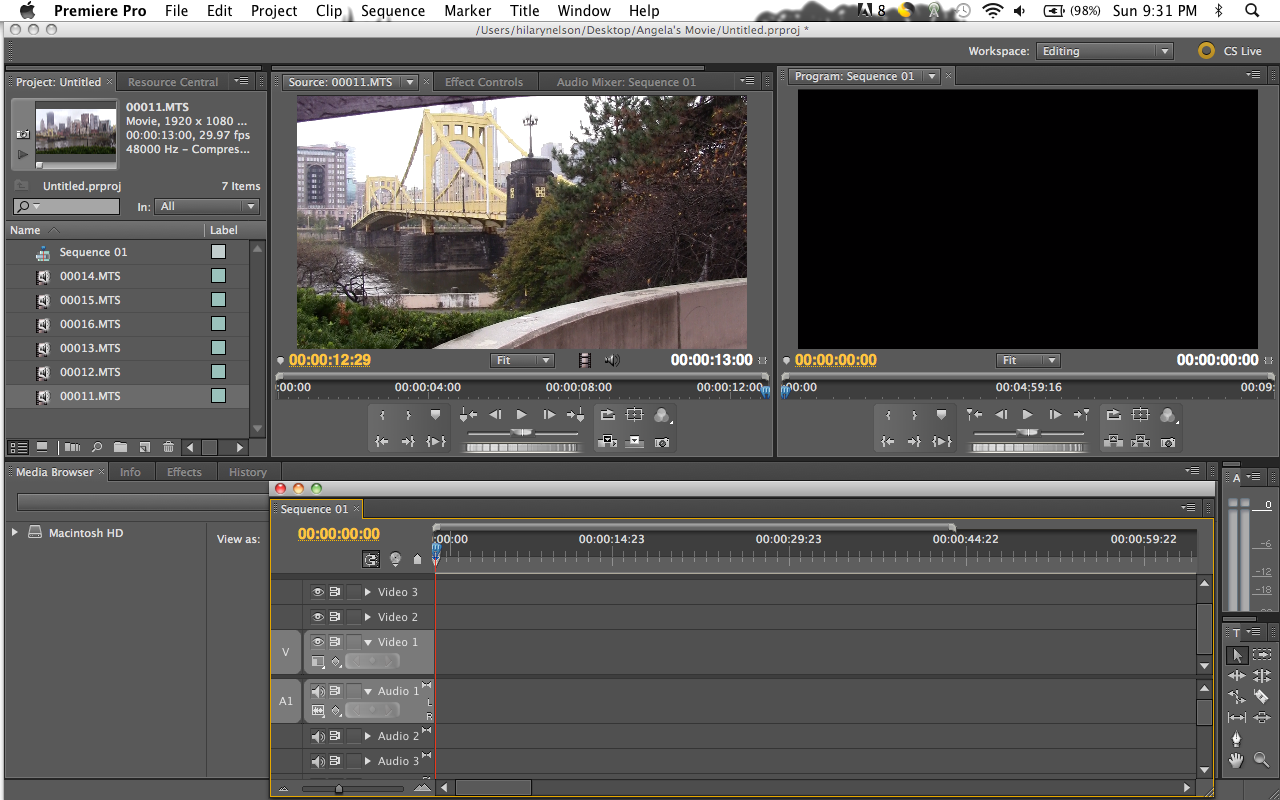 Fading videos in and out in adobe premiere cs55 digital youll ccuart Image collections