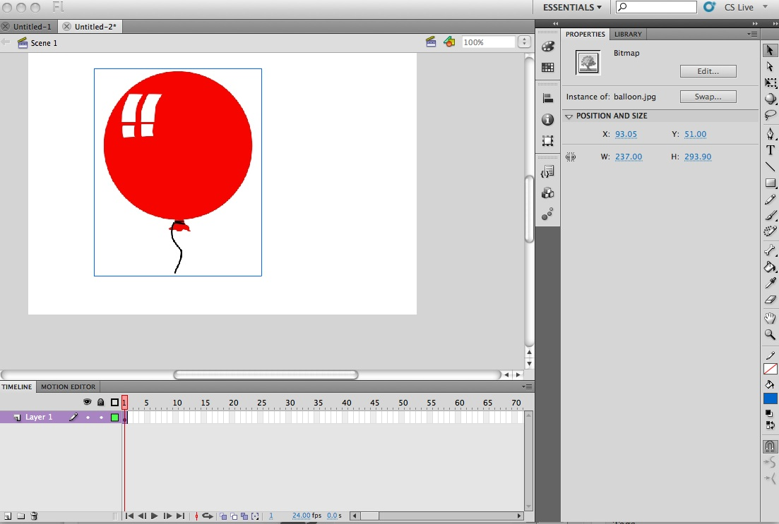 How To Create A Symbol In Adobe Flash Digital Composition Diy