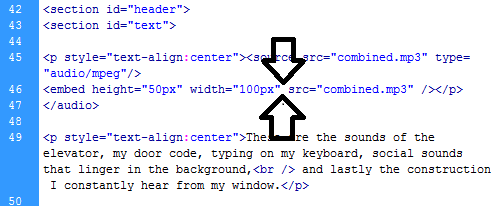 html audio autoplay