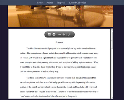 Website pdf html from