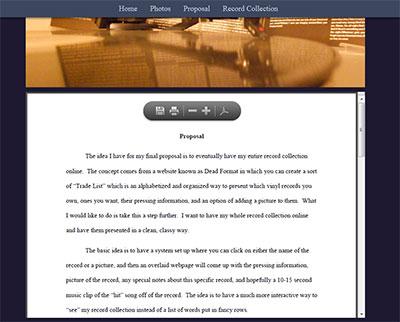 Code pdf website