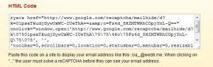 Hidden Email.