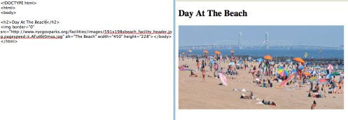 Example: Day At The Beach