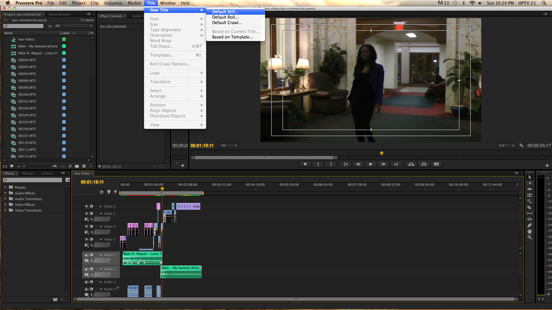 Add some swag to your narration making subtitles on adobe premiere default still ccuart Choice Image