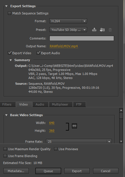 Finding the Balance Between Video File Size and Quality in Adobe ...