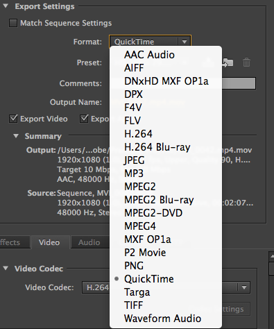 Compressing Video for the Web | Digital Composition DIY