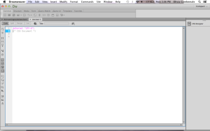 2. CSS empty screen