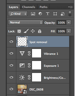 How to Remove the Flash Spot in Photos on Photoshop